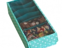 Органайзер для шарфиков/колгот 7 отделений с крышкой фото 1