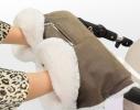 Муфта для коляски на овчине
