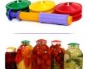 Набор для вакуумного хранения продуктов (9 крышек+насос) фото 1