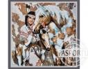 Набор для вышивки картины Покахонтас 73х72см фото