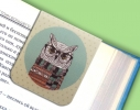 Набор магнитных закладок для книги Гламурные совы Mr. Bookmark фото 1