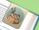 Набор магнитных закладок для книги Гламурные совы Mr. Bookmark фото 2
