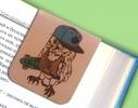 Набор магнитных закладок для книги Гламурные совы Mr. Bookmark фото 3
