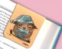 Набор магнитных закладок для книги Совушка на ветке Mr. Bookmark фото 3