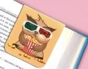 Набор магнитных закладок для книги Совушка на ветке Mr. Bookmark фото 4