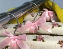 Набор мягких вешалок Винтаж розы бордовый нюд фото 2