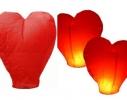 Небесный фонарик Сердечко фото