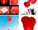 Небесный фонарик Сердечко фото 1