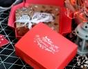 """Шоколадный набор """"Новогодний набор крафтовый"""" 150 г фото 1"""