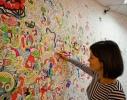 Обои-раскраски для детей Котики 60х60см фото 3