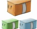 Органайзер для одежды, постельного белья бамбук фото 1