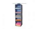 Подвесной органайзер для вещей на 5 секций фото 4