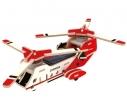 Деревянный конструктор «Вертолет СН 47» на солнечной батарее фото
