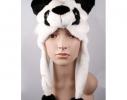 Шапка с ушками Панда фото 1