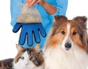 Перчатка для вычесывания шерсти животных True Touch (Тру Тач) фото
