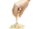Кинетический песок 500 г Две формочки фото 4