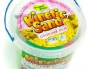 Кинетический песок 1 кг с тремя формочками фото 8