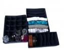 Комплект органайзеров для белья Джинс 3 шт фото
