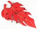 Часы настенные Фигурные Дерево красные фото