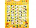 Интерактивный говорящий плакат - азбука Букваренок русского алфавита фото 1