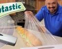 """Диспенсер для хранения пищевой пленки и фольги """"Wraptastic"""" фото 2"""