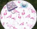 Пляжный коврик Фламинго фото 1