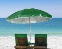 Пляжный зонт с наклоном 2.0 Umbrella Anti-UV зеленый фото 2