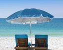 Пляжный зонт с наклоном 2.0 Umbrella Anti-UV голубой фото 2