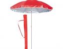 Пляжный зонт с наклоном 2.0 Umbrella Anti-UV красный фото