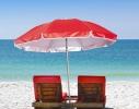 Пляжный зонт с наклоном 2.0 Umbrella Anti-UV красный фото 2