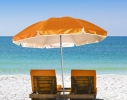 Пляжный зонт с наклоном 2.0 Umbrella Anti-UV оранжевый фото 2