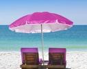Пляжный зонт с наклоном 2.0 Umbrella Anti-UV розовый фото 2