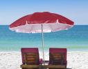 Клонировать Пляжный зонт с наклоном 2.0 Umbrella Anti-UV бордовый фото 2