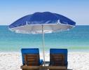 Пляжный зонт с наклоном 2.0 Umbrella Anti-UV синий фото 2