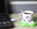 USB - подставка под чашку с подогревом Apple фото