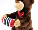 Поющий медведь с баяном Романтик фото