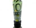 Оригинальная пробка для бутылки 100 евро фото