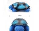 Проектор звездного неба Night Turtle Черепаха музыкальная Синяя фото 5