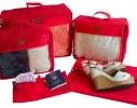 Набор дорожных сумок в чемодан 5 шт. фото