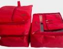 Набор дорожных сумок в чемодан 5 шт. фото 1