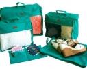 Набор дорожных сумок в чемодан 5 шт. фото 4