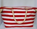 Пляжная текстильная сумка с морским принтом фото 8