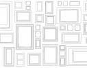 Обои - раскраски Рамки 60х100см фото