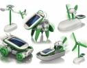 Робот - трансформер на солнечной батарее Solar Kit 6в1 фото