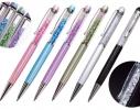 Ручка со стразами Crystal + стилус фото 2