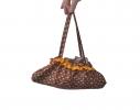Зонт Антишторм с рюшами Ferrero Бордо фото 4