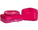 Дорожные сумки-органайзеры в чемодан ORGANIZE розовые фото 1, купить, цена