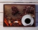 Поднос на подушке Кофейное настроение