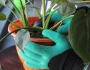 Садовые перчатки с пластиковыми наконечниками Garden gloves фото 5