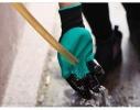 Садовые перчатки с пластиковыми наконечниками Garden gloves фото 6
